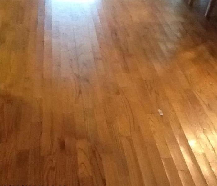Athens al water damage restoration and water removal for Hardwood floors cupping