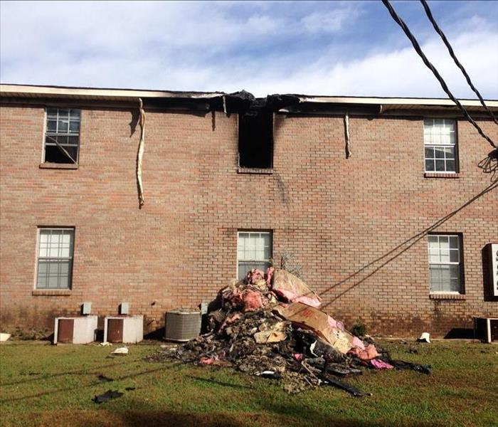 Apartment Fire in Athens, AL