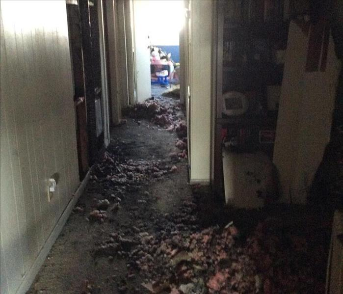 Wall Heater caused fire in Athens, AL