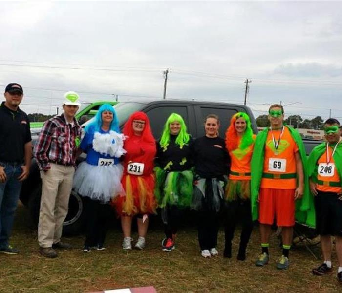 Community SERVPRO wins top company at the Apple Annie Charity 5k!