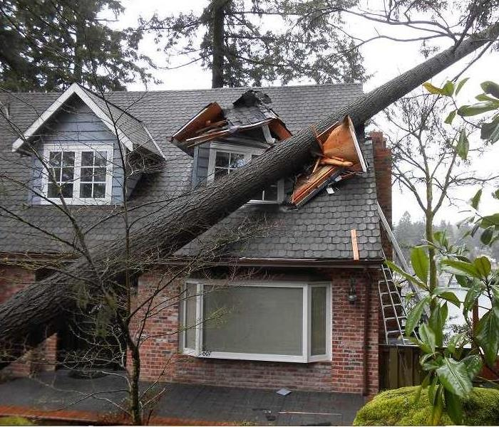 Storm Damage When Storms or Floods hit Limestone and Lawrence Counties SERVPRO is ready!