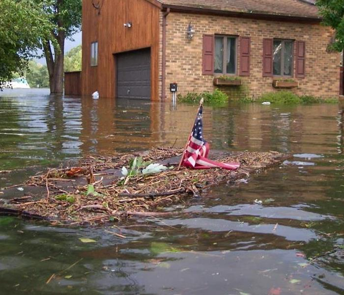 Water Damage When storms or floods hit