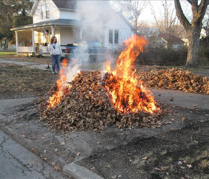 Burning Leaves Servpro Of Limestone And Lawrence Counties